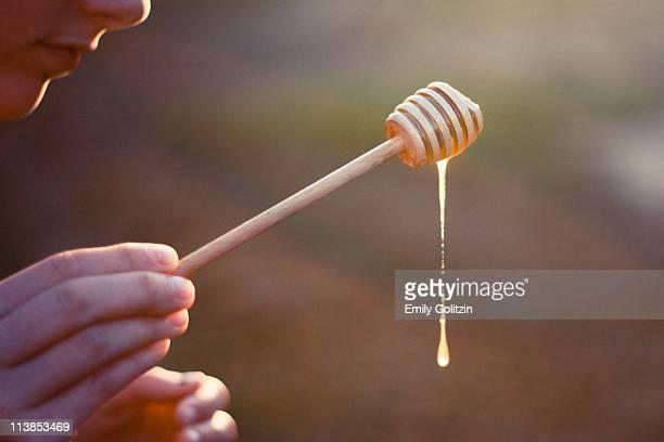 Honey Stirrer in sunlight