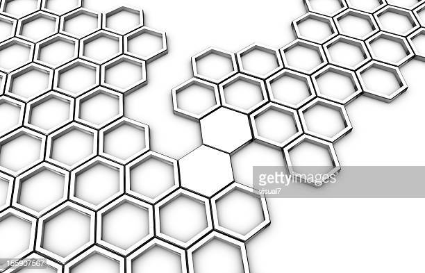 honeycomb connecting bridge