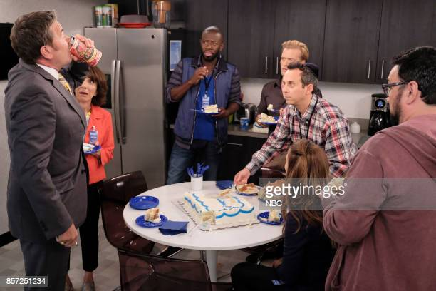 NEWS 'Honeypot' Episode 203 Pictured John Michael Higgins as Chuck Pierce Andrea Martin as Carol Wendelson Sheaun McKinney as Wayne Adam Campbell as...