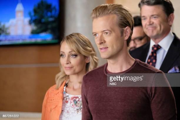 NEWS 'Honeypot' Episode 203 Pictured Nicole Richie as Portia ScottGriffith Adam Campbell as Greg Walsh John Michael Higgins as Chuck Pierce