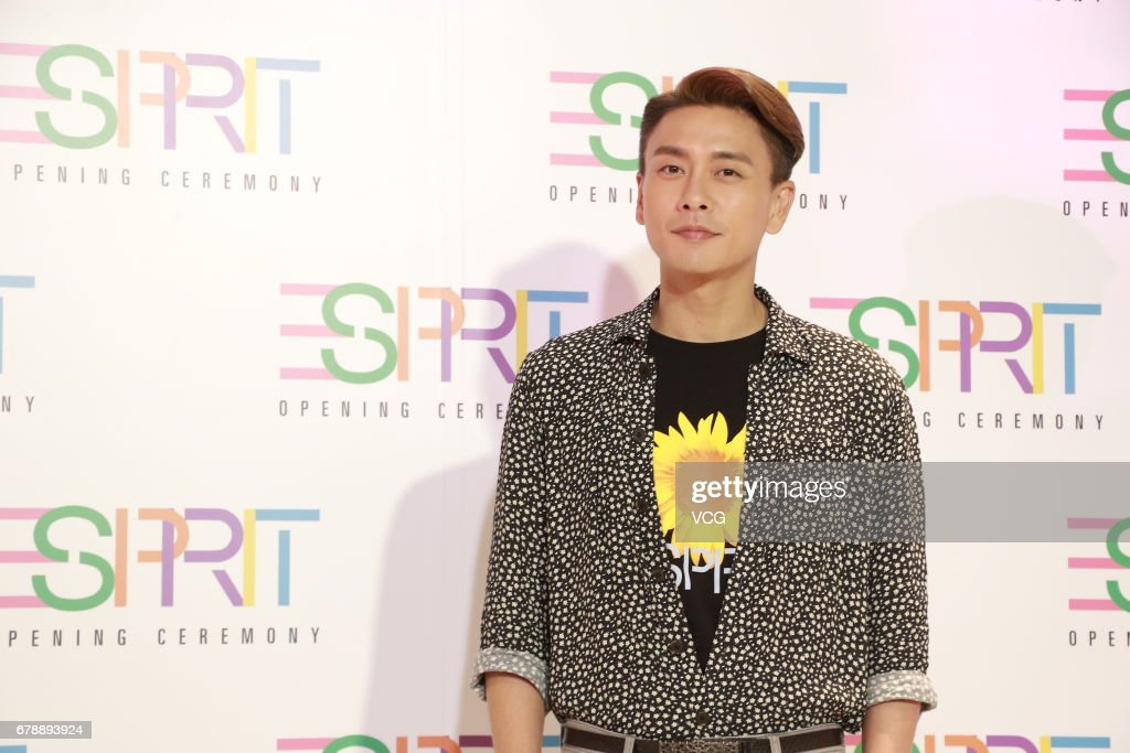 Hong Kong actor Bosco Wong Chung-chak attends Esprit store opening ceremony on May 4, 2017 in Hong Kong, Hong Kong.