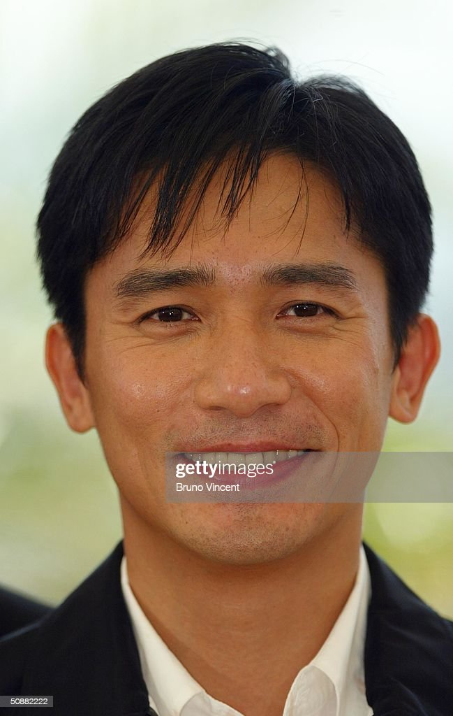 Hong Kong actor Tony Leung attends '2046' photocall at Le Palais de Festival at the 57th Cannes Film Festival on May 21, 2004 in Cannes, France.