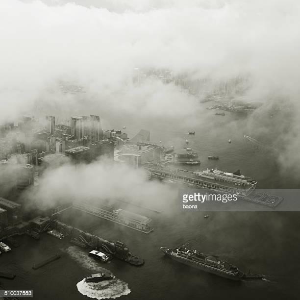 香港の空からの眺め