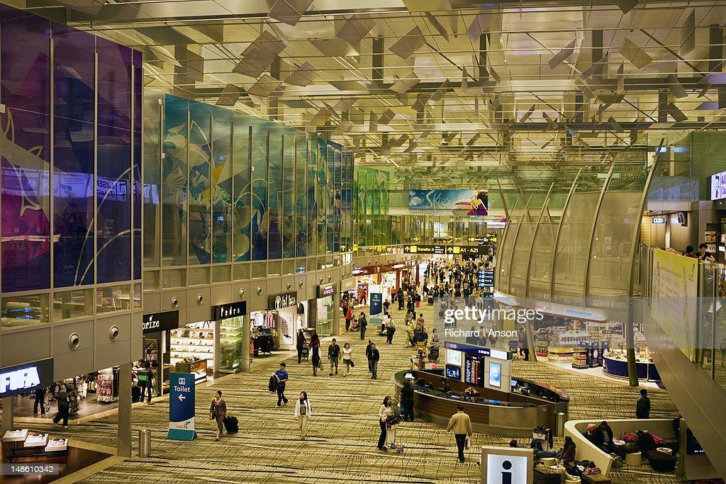 Hong Kong Airport.