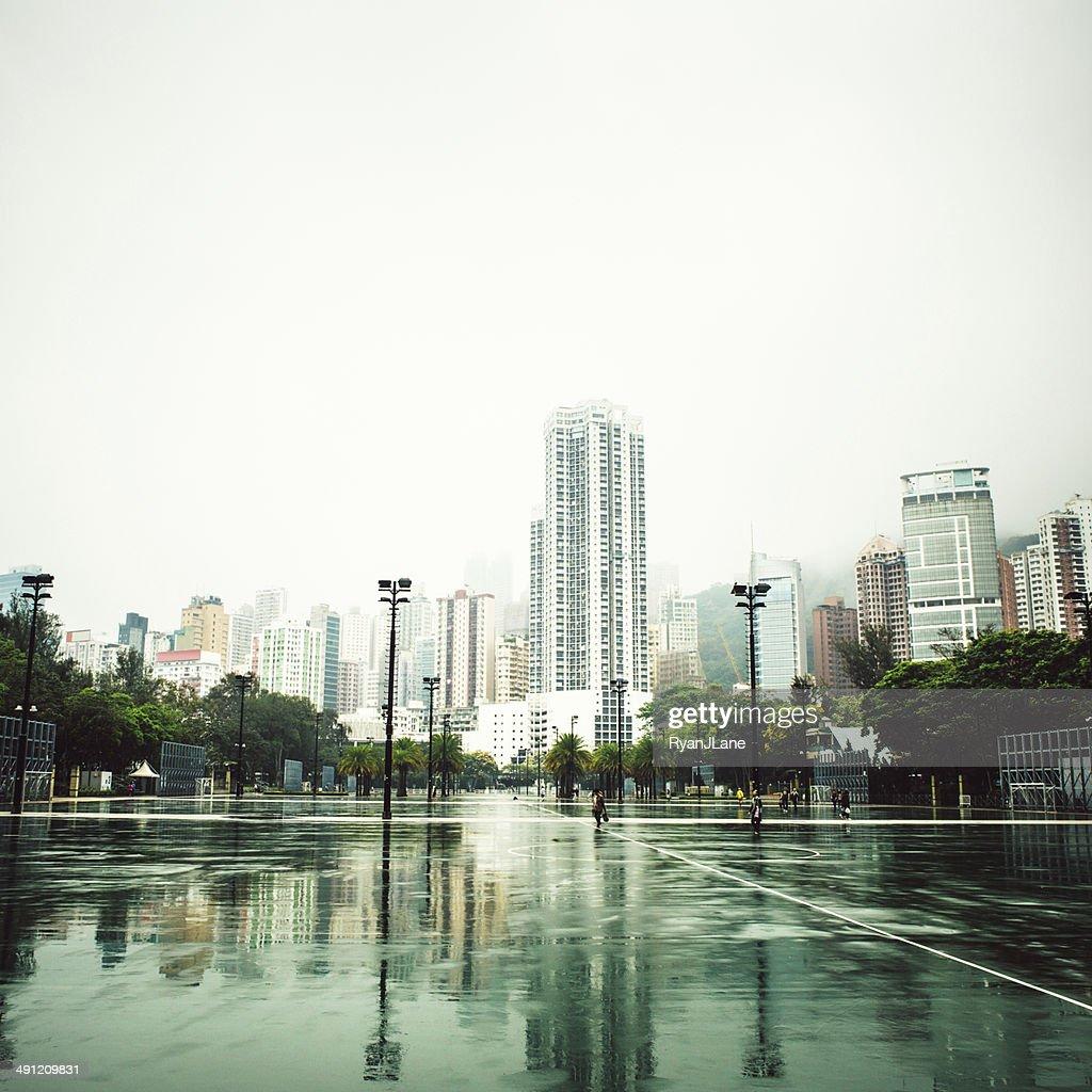 Hong Kong and Victoria Park