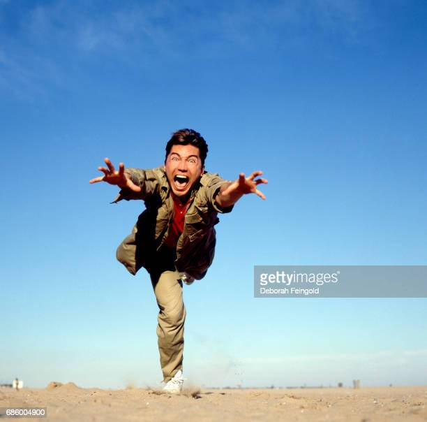 Hong Kong born actor poses for a portrait in 1985 in Long Beach New York