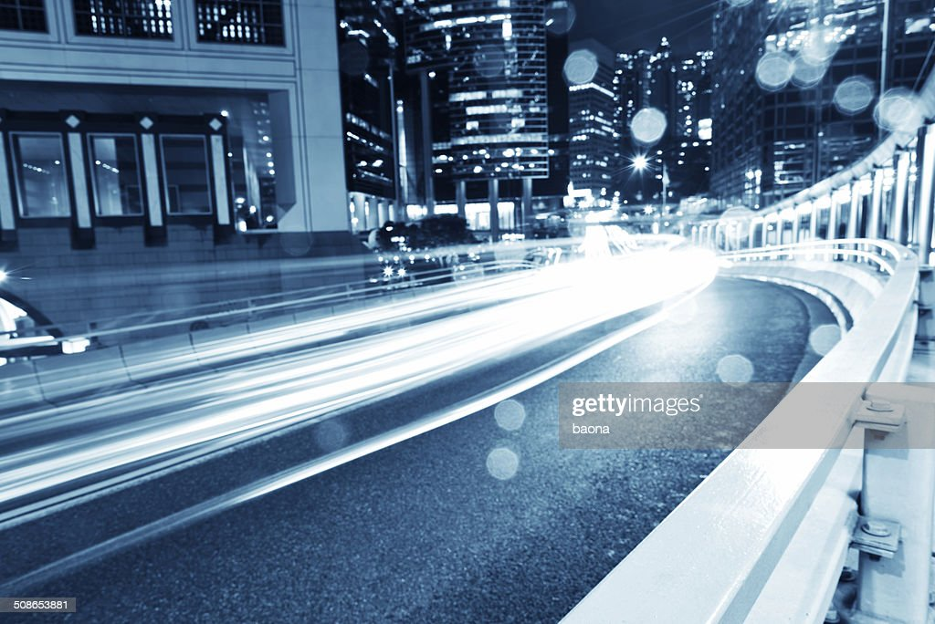 Hong Kong business district : Stock Photo