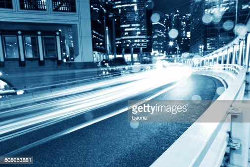 Hong Kong business district : Stock Photo