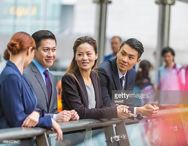 香港のビジネス人々て