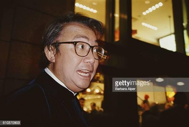 Hong Kong businessman David Tang founder of the Shanghai Tang fashion chain circa 1995
