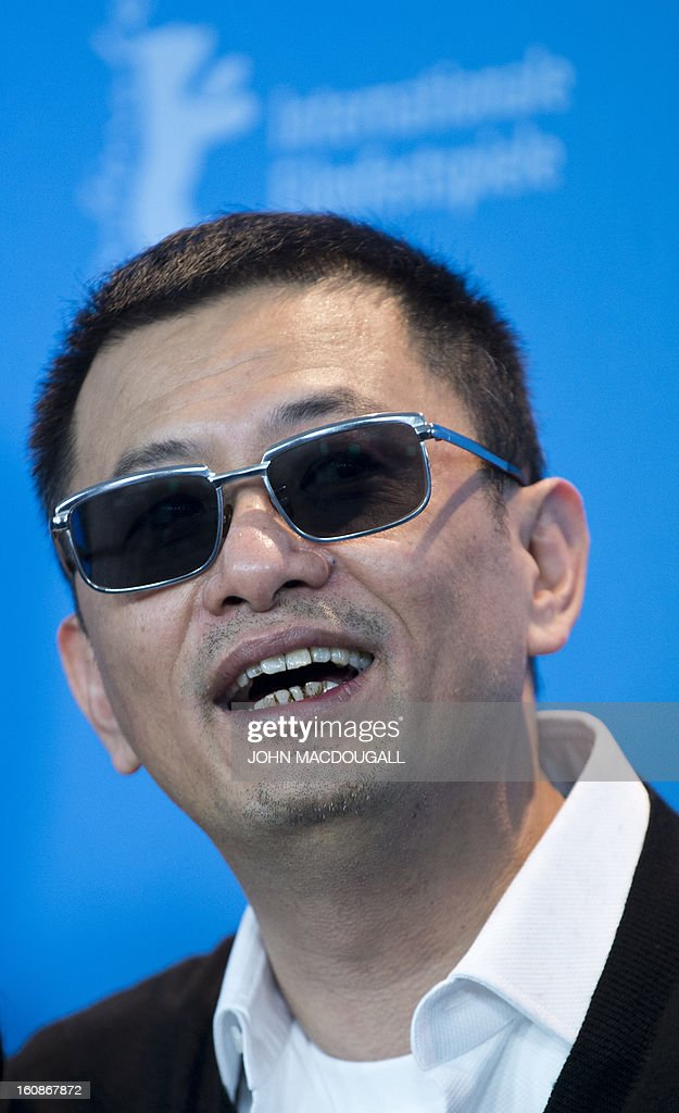 Hong Kong Chinese director Wong Kar-Wai, jury president of the 63rd Berlinale film festival, poses during a photocall in Berlin February 7, 2013. The 63rd Berlinale, the first major European film festival of the year, starts on February 7, 2013 with 24 productions screening in the main showcase.