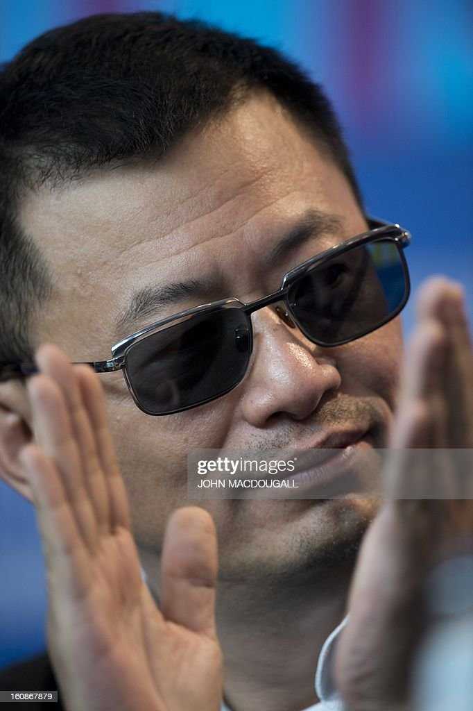 Hong Kong Chinese director Wong Kar-Wai, jury president of the 63rd Berlinale film festival, attends a press conference in Berlin February 7, 2013. The 63rd Berlinale, the first major European film festival of the year, starts on February 7, 2013 with 24 productions screening in the main showcase. AFP PHOTO / JOHN MACDOUGALL