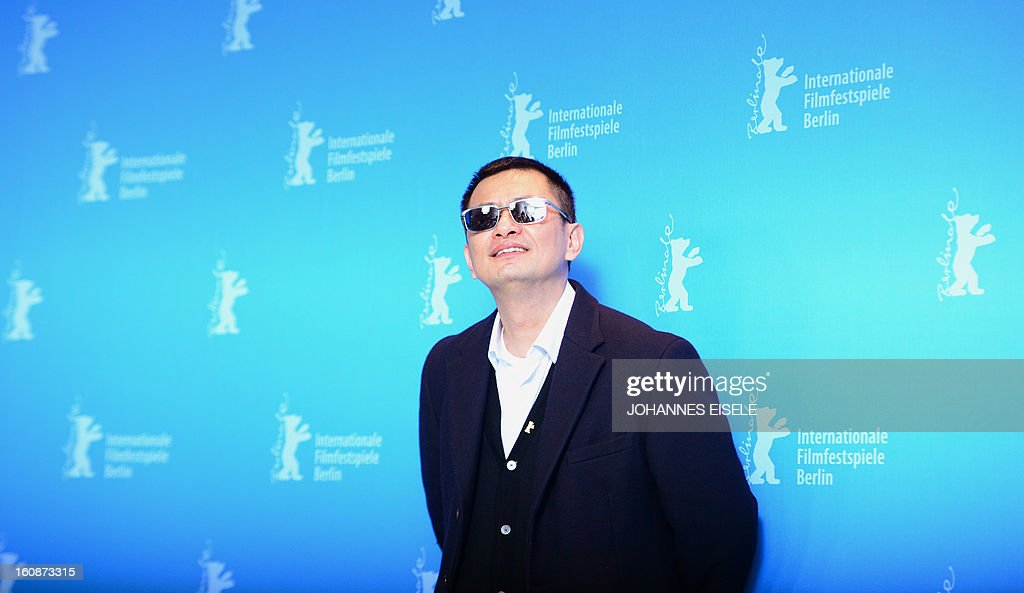 Hong Kong Chinese director Wong Kar-Wai, jury president of the 63rd Berlinale film festival, poses during a photocall for his film 'Yi dai zong shi' (The Grandmaster) in Berlin, February 7, 2013. The 63rd Berlin film festival opens with a gala screening of Chinese director Wong Kar Wai's martial arts epic about the mentor of kung fu superstar Bruce Lee.
