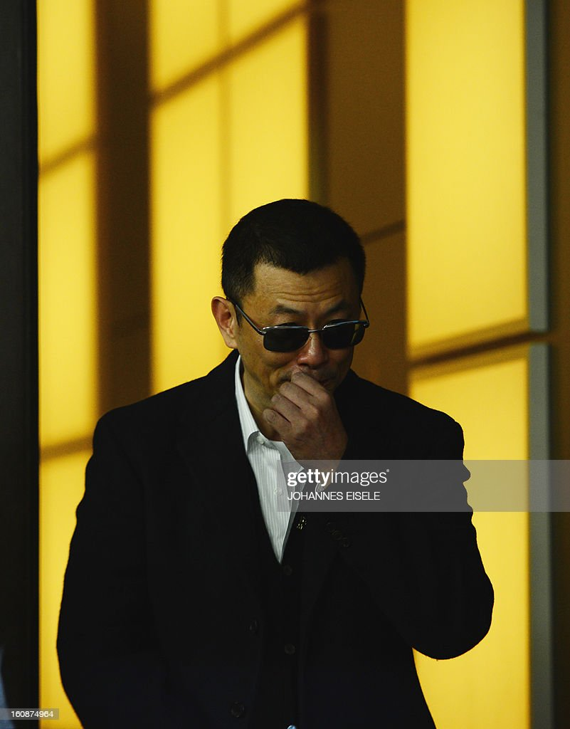 Hong Kong Chinese director Wong Kar-Wai, jury president of the 63rd Berlinale film festival, arrives for a press conference for his film 'Yi dai zong shi' (The Grandmaster) in Berlin, on February 7, 2013. The 63rd Berlin film festival opens with a gala screening of Chinese director Wong Kar Wai's martial arts epic about the mentor of kung fu superstar Bruce Lee.