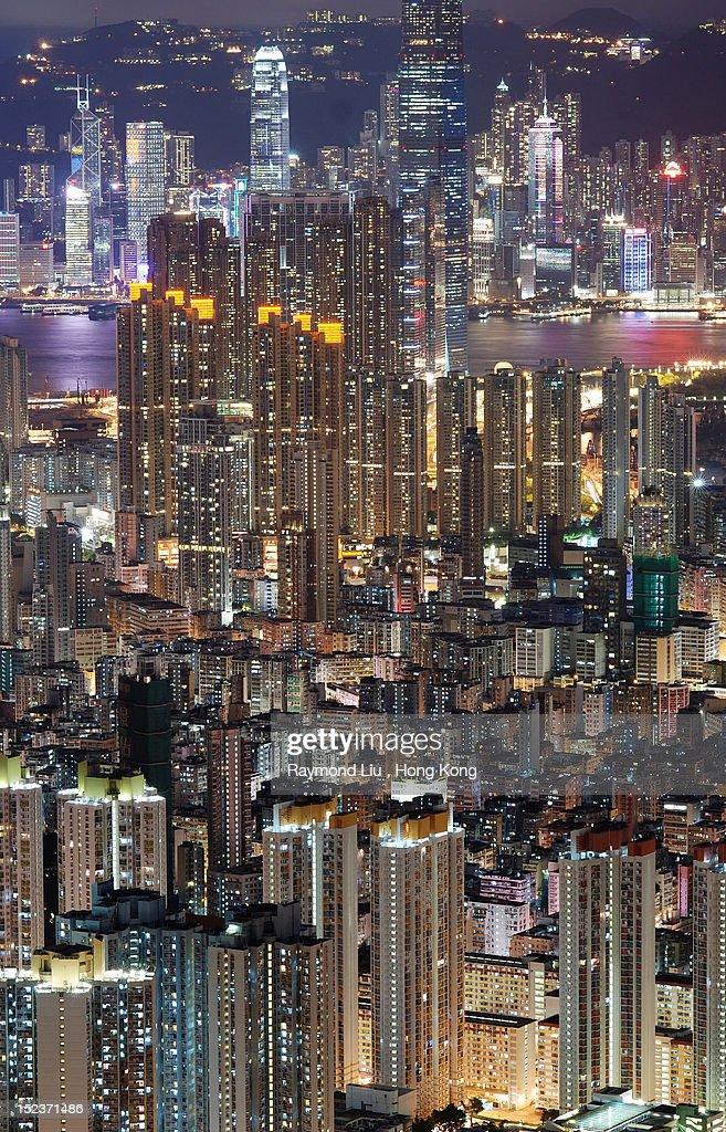 Hong Kong city : Stock Photo