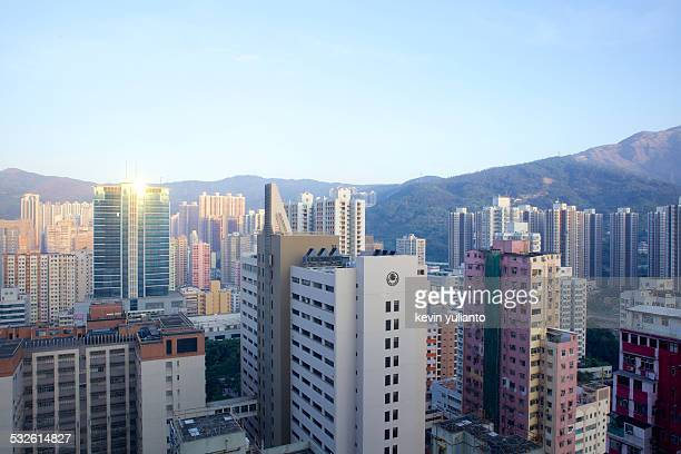 Hong Kong Cityscape in the Morning