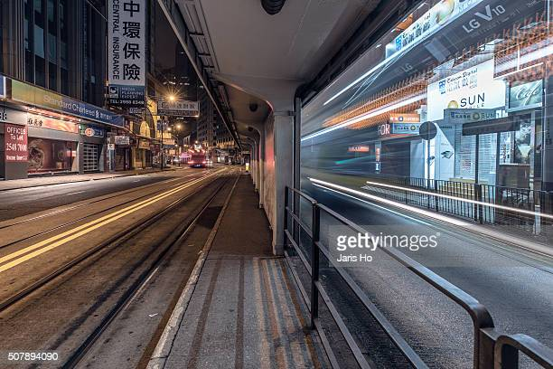 Hong Kong financial district