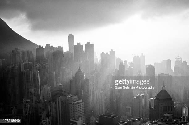 Hong Kong in morning