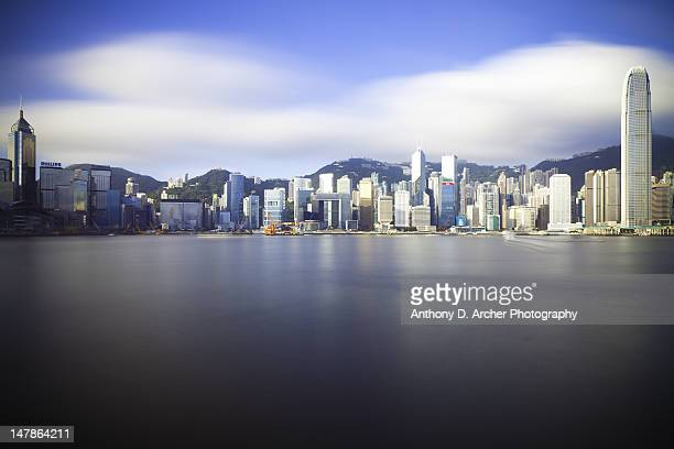 Hong Kong Island's skyline