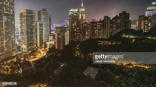 Hong Kong Night View