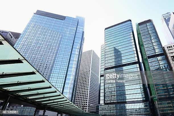 Hong Kong office buildings
