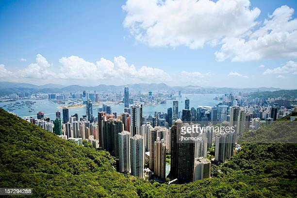 Hong Kong on A Clear Day
