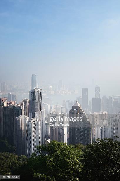 Hong Kong on a sunny day