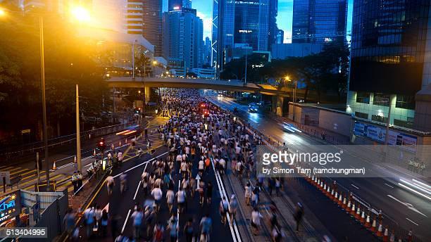 Hong Kong Rally for Democracy 1 July, 2014