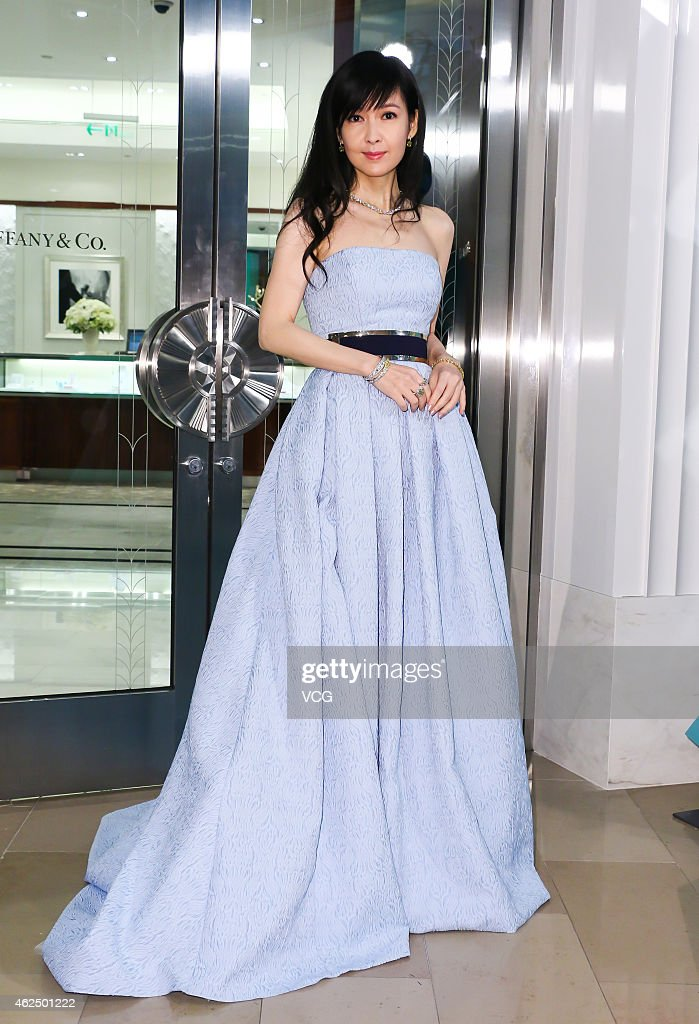 Vivian Chow Attends Tiffany Taipei 101 Store Reopening