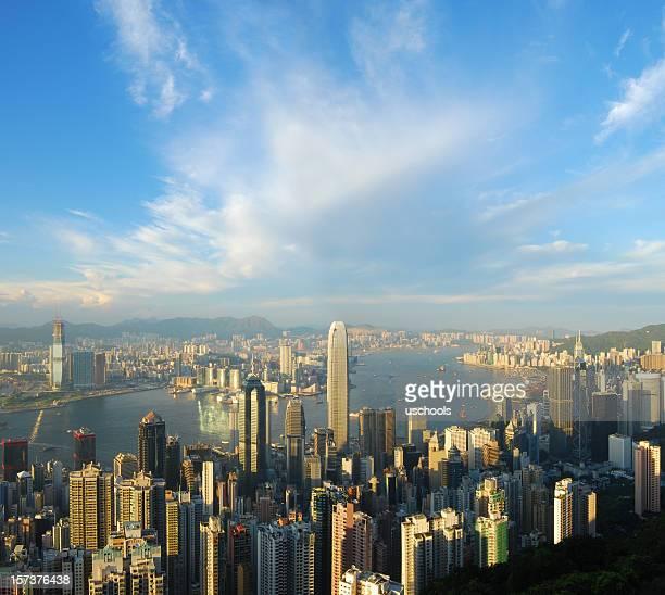 Hong Kong Skyline and Victoria Harbor (XL)