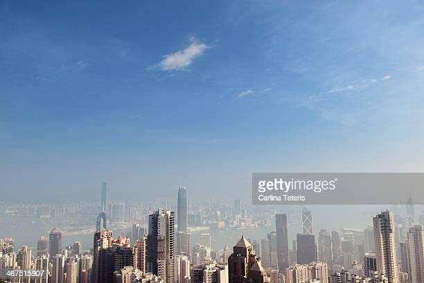 Hong Kong Skyline on a Sunny Day