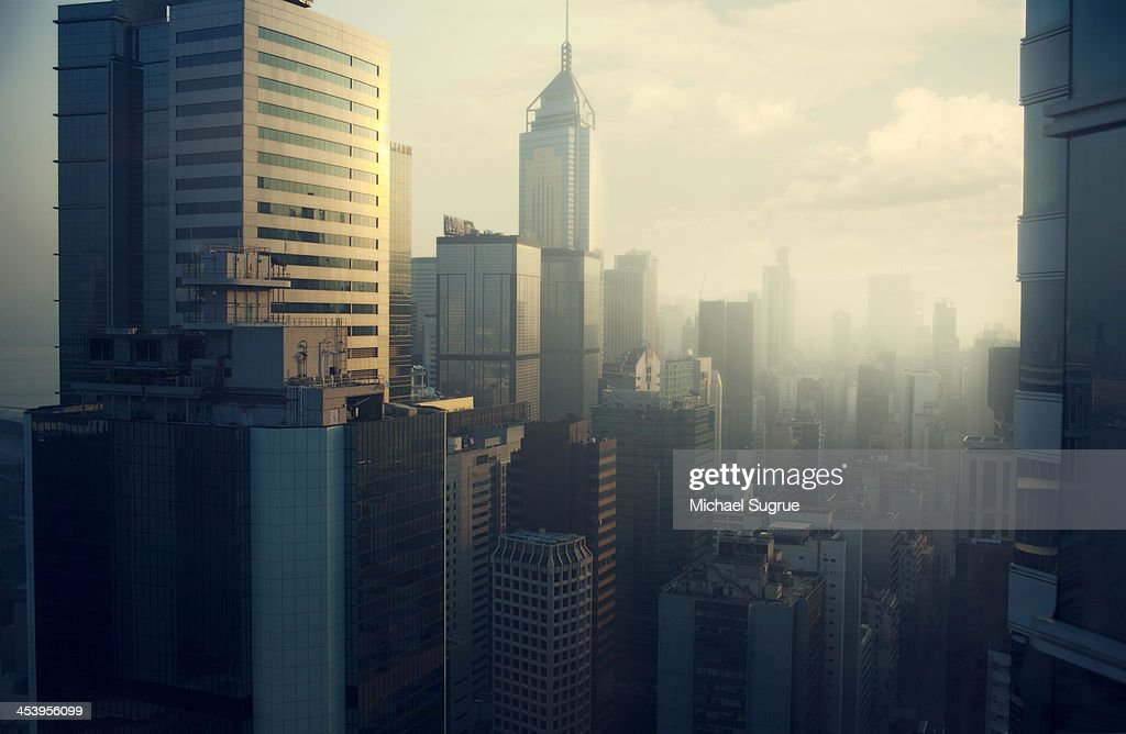 Hong Kong skyline : Foto stock