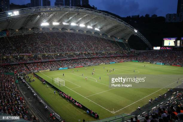 Hong Kong Stadium during the Premier League Asia Trophy match between Leicester City and West Bromwich Albion on July 19th 2017 in So Kon Po Hong Kong