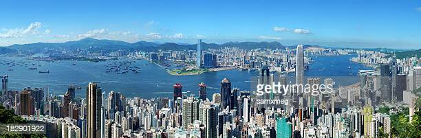 Hong Kong Victoria Harbor at Day