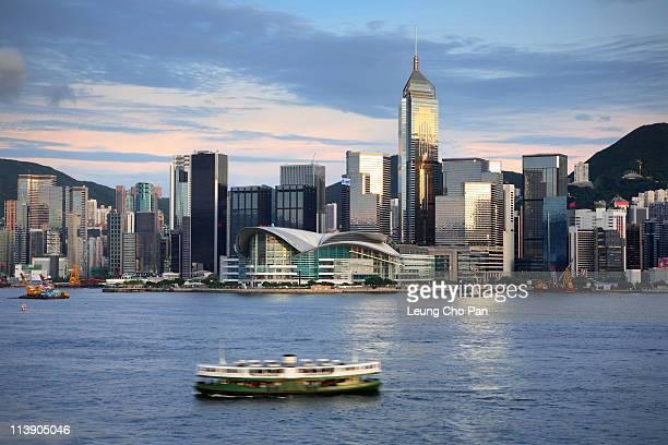 Hong Kong victory harbour