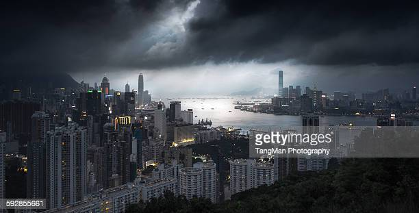 Hong Kong, viewed from Braemar Hill