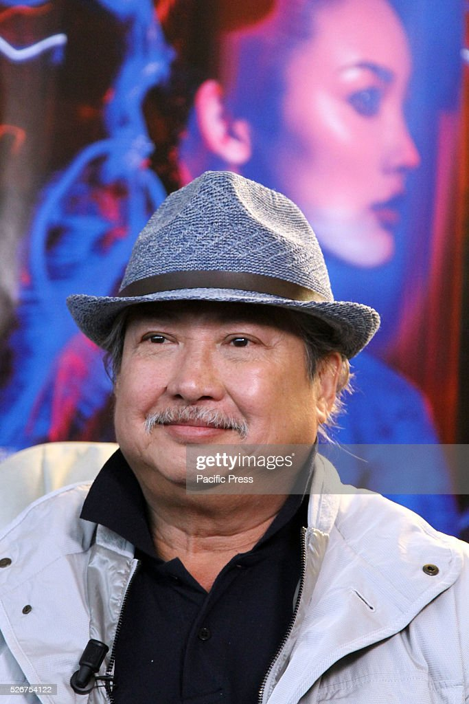 Hong Kong's Director Sammo Hung smiles during the press conference of the movie The Bodyguard at Teatro Nuovo in Udine.