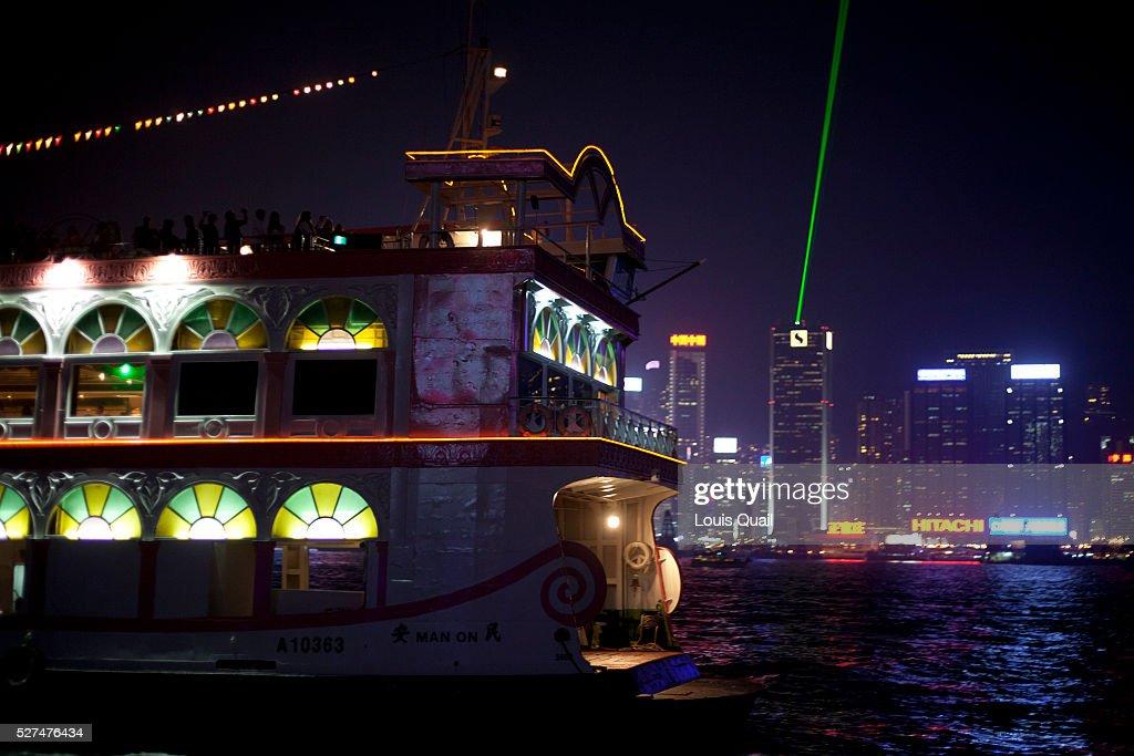 China   Hong Kong   Laser Light Show