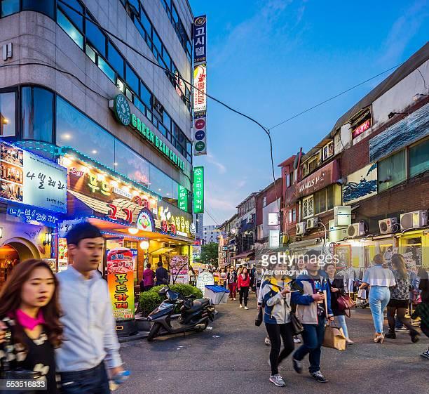 Hongdae Area, Hongik University Area