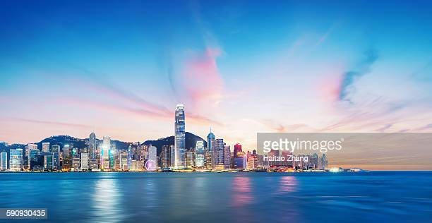 Hongkong by night