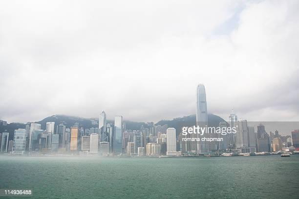 Hongkong island and harbour