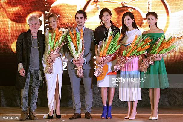 Hongkong photographer Christopher Doyle director Rain Li actor Richard De Klerk actress Lin Chiling actress Jiang Shuying and actress Guan Xueying...