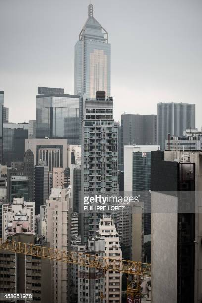 HongKongIndonesiaBritaincrimesexbankersFOCUS by Judy NGAO This picture taken on November 7 2014 shows an overview of Hong Kong's Wanchai district...