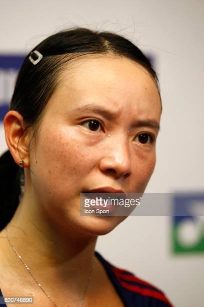 Hongyan PI Simple Femme Championnats du Monde de Badminton 2010 Stade Pierre de Coubertin Paris