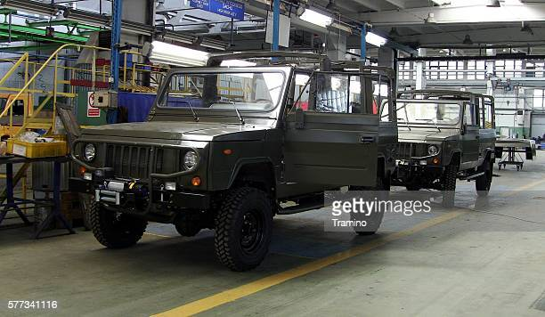 Honker vehicles in the factory