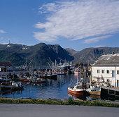 Honningsvag, Mageroya, Finnmark, Norway