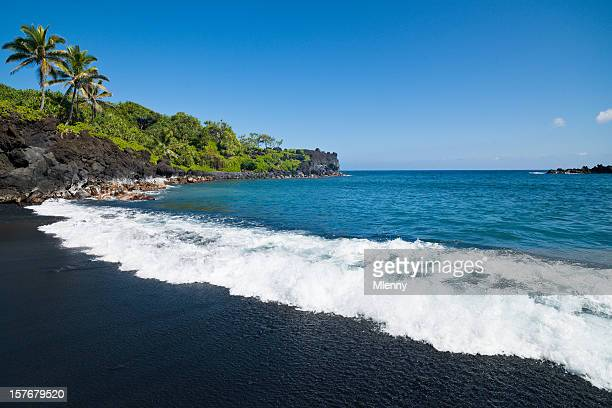 Honokalani Black Beach Wainapanapa Maui Island