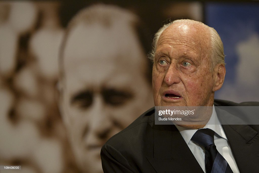 FIFA hononary President Joao Havelange at the official launch of his biography Joao Havelange - The official sports of the XX Century, on February 24, 2011 in Rio de Janeiro, Brazil.