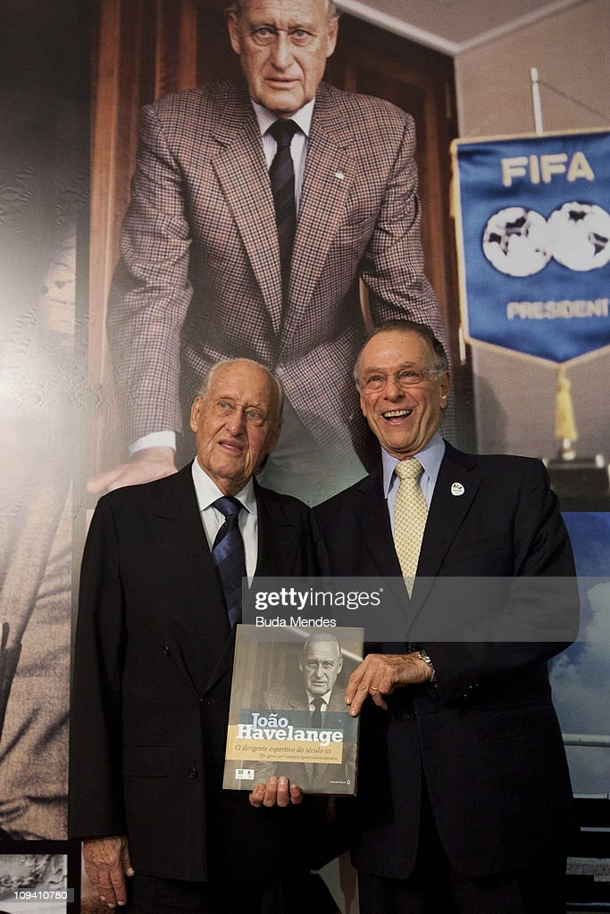 FIFA hononary President Joao Havelange at the official launch of his biography Joao Havelange The official sports of the XX century on February 24, 2011 in Rio de Janeiro, Brazil.