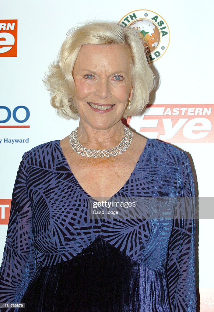 Honor Blackman during Eastern Eye Asian Business Awards 2006 - Outside Arrivals at Grovenor House in London, Great Britain.